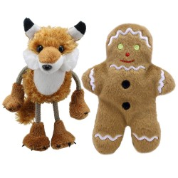 The Gingerbread Man and Fox