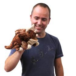 Triceratops - Baby Dinos Hand Puppet