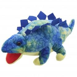 Stegosaurus (Blue) - Baby Dinos Hand Puppet