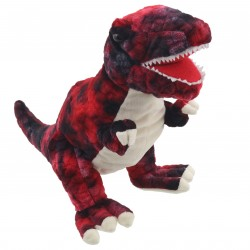 T-Rex (Red) - Baby Dinos Hand Puppet