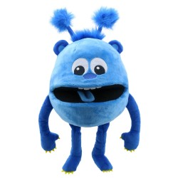 Blue - Baby Monsters Hand Puppet