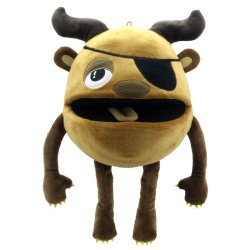 Brown - Baby Monsters Hand Puppet