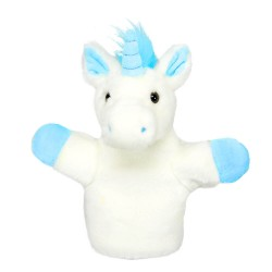 Unicorn (Blue) - CarPet Glove Puppet