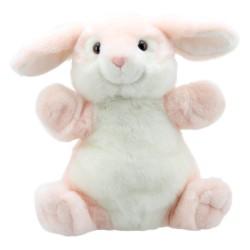 Rabbit (Pink) - Cuddly Tumms Hand Puppet