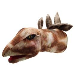 Stegosaurus - Large Dino Head Hand Puppet