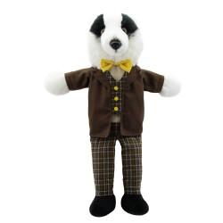 Badger - Dressed Animal Hand Puppet
