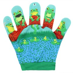 Five Little Speckled Frog - Song Mitts
