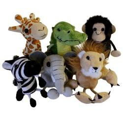 African Animals - Finger Puppet Set