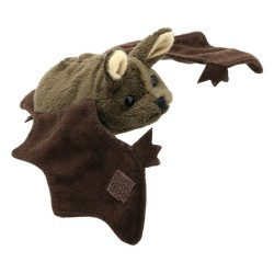 Bat (Brown) - Finger Puppet