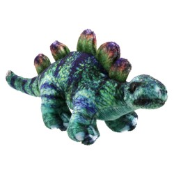 Stegosaurus (Green) - Dinosaur Finger Puppet