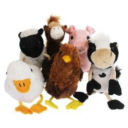 Farm Animals - Finger Puppet Set