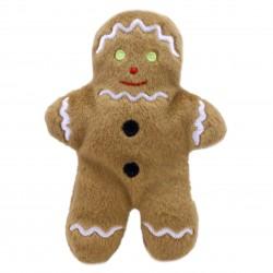 Gingerbread Man - Finger Puppet