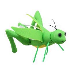 Grasshopper - Finger Puppet