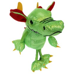 Dragon (Green) - Finger Puppet