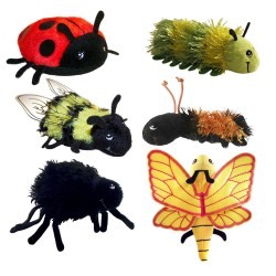 Mini Beasts - Finger Puppet Set