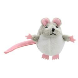 Grey Mouse - Finger Puppet