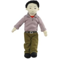Dad (Olive Skin Tone) - Finger Puppet
