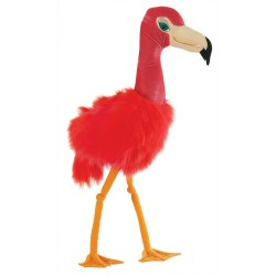 Flamingo - Giant Bird Hand Puppet