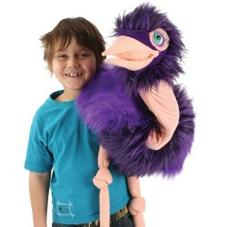 Ostrich - Giant Bird Hand Puppet