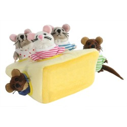 Mice In Cheese - Hide Away Puppets