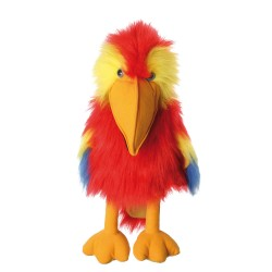 Scarlet Macaw - Large Birds Hand Puppet