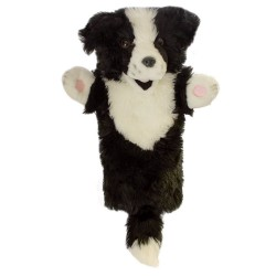 Border Collie - Long Sleeved Hand Puppet