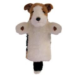 Fox Terrier - Long Sleeved Hand Puppet