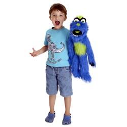 Blue - Monster Hand Puppet