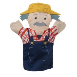 Farmer - Flat Glove Puppet