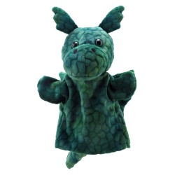 Dragon (Green) - Animal Puppet Buddies Hand Puppet