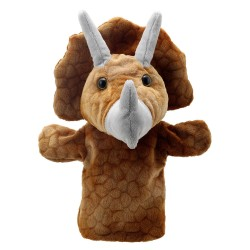 Triceratops - Animal Puppet Buddies Hand Puppet