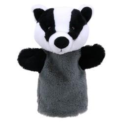 Badger - Animal Puppet Buddies Hand Puppet