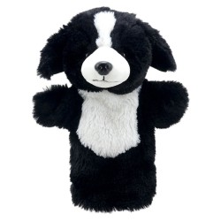 Border Collie - Animal Puppet Buddies Hand Puppet
