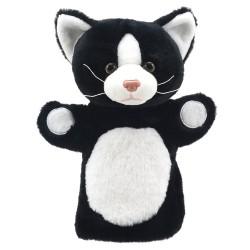 Cat (Black and White) - Animal Puppet Buddies Hand Puppet