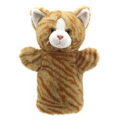 Cat (Ginger) - Animal Puppet Buddies Hand Puppet