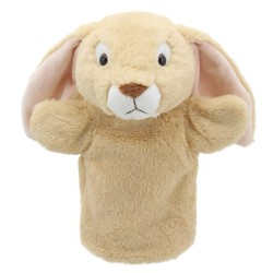 Rabbit (Lop Eared) - Animal Puppet Buddies Hand Puppet