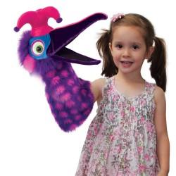 Dazzle (Pink/Purple) - Snapper Hand Puppet