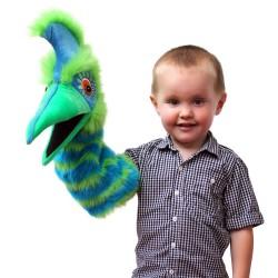 Guzzle (Green/Blue) - Snapper Hand Puppet