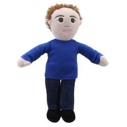 Finger Puppets: Dad (Blue Top)