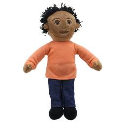 Finger Puppets: Dad (Orange Top)