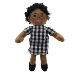 Finger Puppets: Mum (Checked Outfit)