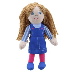 Finger Puppets: Girl (Blue Top)