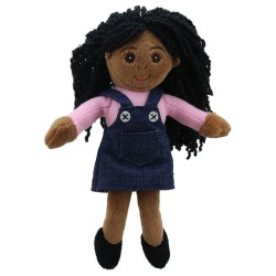 Finger Puppets: Girl (Pink Top)