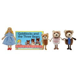 Goldilocks - Boxed Book and Finger Puppets Set