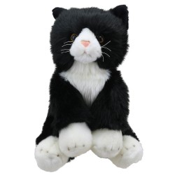 Cat (Black & White) - Wilberry Favourites Soft Toy