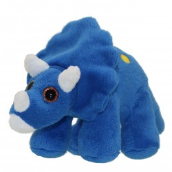 Triceratops - Colourful Dino Soft Toy