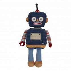Dark Blue - Wilberry Robot Soft Toy