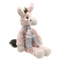 Donkey (Pink, Large) - Wilberry Classics Soft Toy