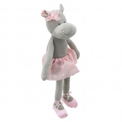 Hippo - Wilberry Dancers Soft Toy