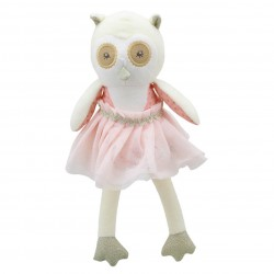 Owl (Cream) - Wilberry Dancers Soft Toy